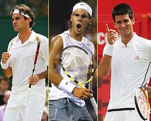 Will You Stop Watching Tennis After Fedal Retire? Roger-federer-rafael-nadal-novak-djokovic1