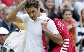 Roger Federer exits Wimbledon