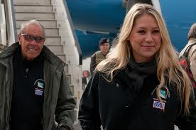 Bollettieri with Anna Kournikova